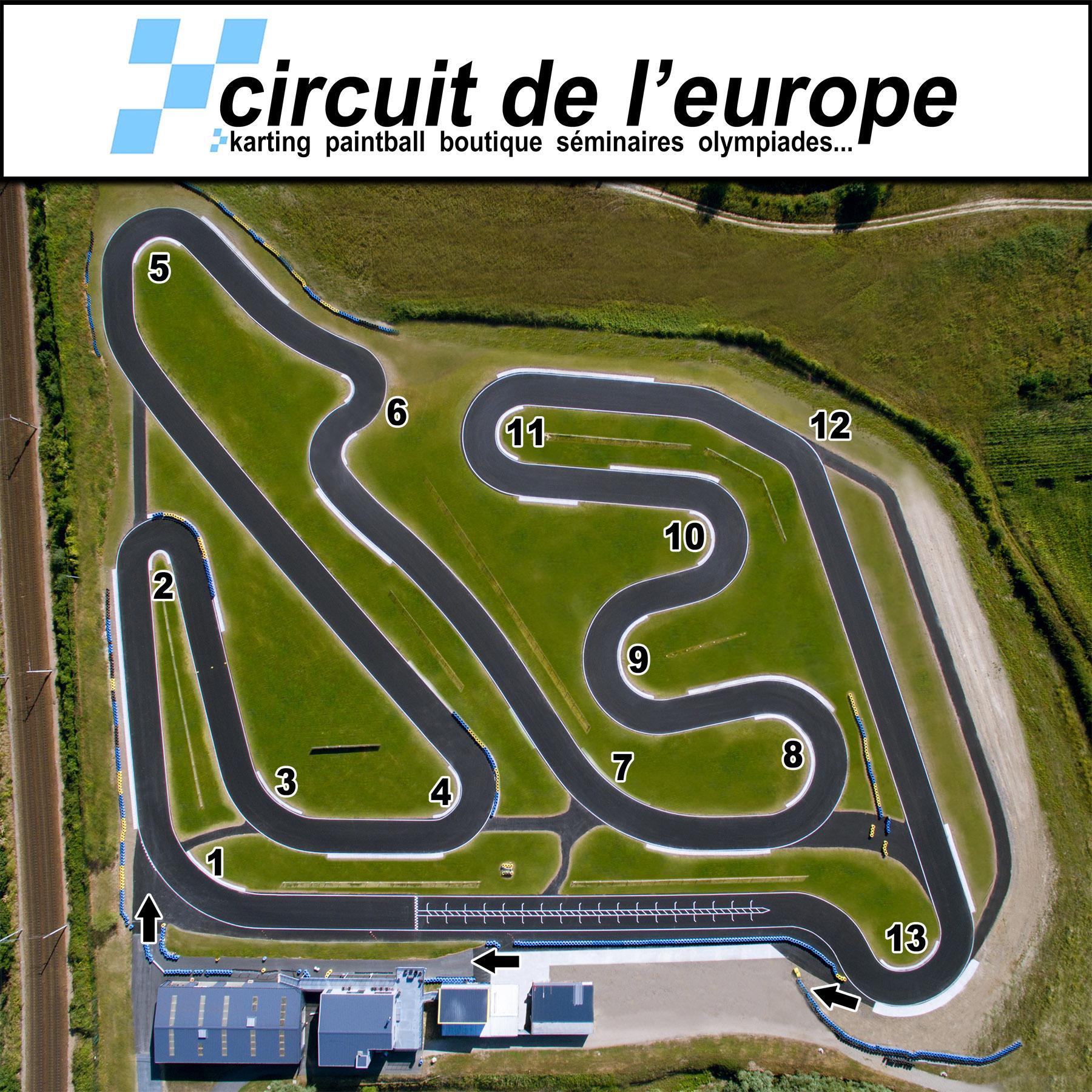 course 6 circuit de l 39 europe 2 tempskart sur table. Black Bedroom Furniture Sets. Home Design Ideas